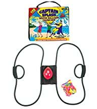 New* 400 Yard Water Balloon Launcher By Captain Splash, 150 Free Water Balloons and Carry Case, 3…