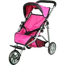 Pink Doll Jogging Stroller