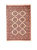 RugSense Alfombra Kashmir Rojo/Beige/Azul 120 x 80 cm