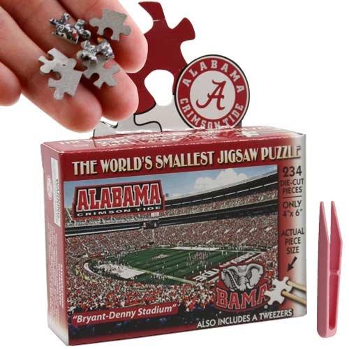NCAA Alabama Crimson Tide World's Smallest Puzzle