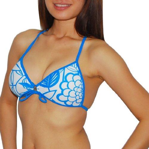 Body Glove Womens Pure Beauty Soft Padded Wireless Bra / Surf & Swim Bikini Top - Quick Dry
