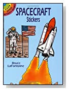 Spacecraft Stickers (Dover Little Activity Books Stickers)