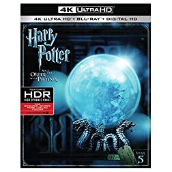 Harry Potter and the Order of the Phoenix [4K Ultra HD + Blu-ray]