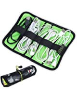 BUBM Universal Cable/pens Organizer Stable/ Baby Healthcare & Grooming Kit (Small, Camouflage)