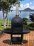 組立出張サビース有!少量の薪で料理可能でECO☆ピザオーブン J83 A-27