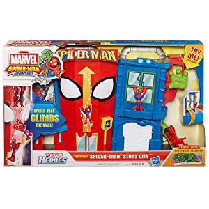 Playskool heroes spider man stunt city playset for Playskool kitchen set