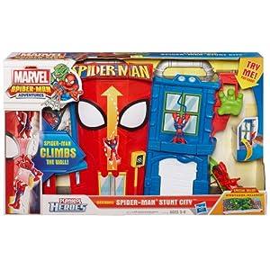 Playskool heroes spider man stunt city playset for Playskool kitchen set