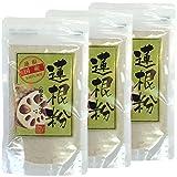 【国産 100%】蓮根粉 100g×3袋セット 無添加 熊本県産