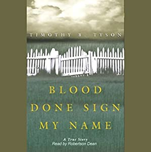 Blood Done Sign My Name Audiobook