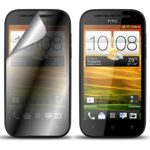 Coveron® Clear Transparent Lcd Screen Protector Shield For Htc One Sv Lte Verizon / Sv Cricket /Boost Mobile / Vl [Wcj607]