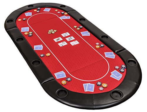 """Dessus de table de poker pliable """"Classic"""" en tissu """"speed"""" et un sac - 200 cm"""