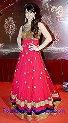 Parimantra Fashion Designer Pink Anarkali Gown