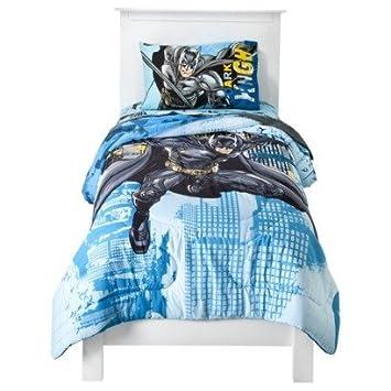 Simple Batman Comforter u Sheets Bed in bag TWIN bed in a bag
