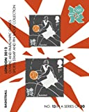 London 2012 Olympic and Paralympic Games sports Stamp and Pin Collection - BASKETBALL (No.13 in a set of 30)