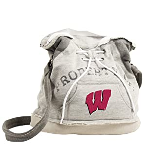 NCAA Wisconsin Hoodie Duffel by Pro-FAN-ity Littlearth