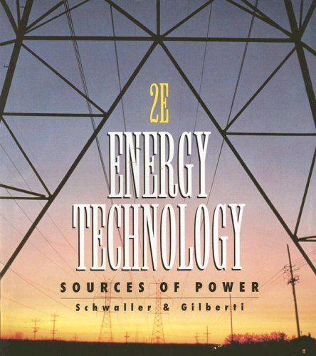 Energy Technology: Sources of Power