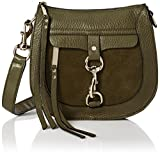 Rebecca Minkoff Dog Clip Saddle Bag, Olive