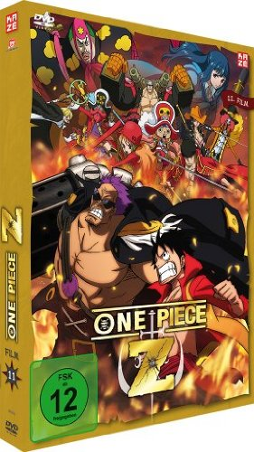 One Piece Z, DVD