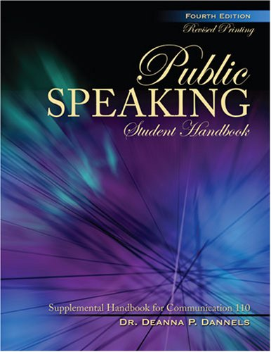 PUBLIC SPEAKING STUDENT HANDBOOK: SUPPLEMENTAL HANDBOOK FOR COMMUNICATION 110