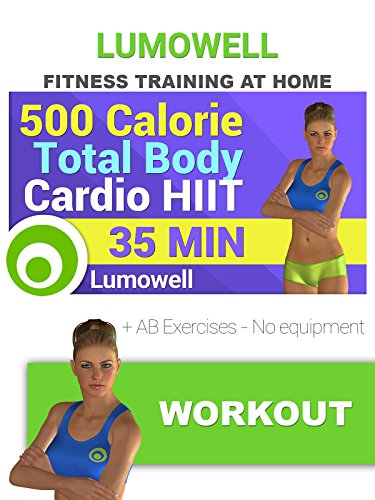 500 Calorie Total Body HIIT Workout + AB Exercises
