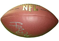 Kansas City Chiefs Dwayne Bowe Autographed NFL Wilson Composite Football, LSU Tigers, Proof Photo