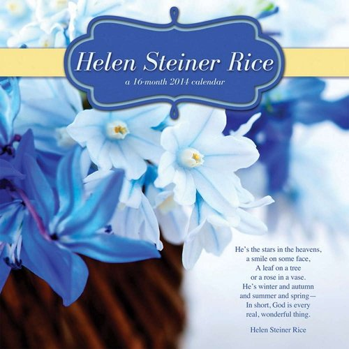 Helen Steiner Rice 2014 Calendar (Rice Calendar compare prices)