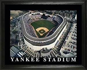 New York Yankees - Old Yankee Stadium Aerial - Lg - Framed Poster Print by Laminated Visuals