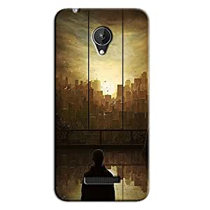 AROUND THE CITY BACK COVER FOR MICROMAX CANVAS SPARK Q380