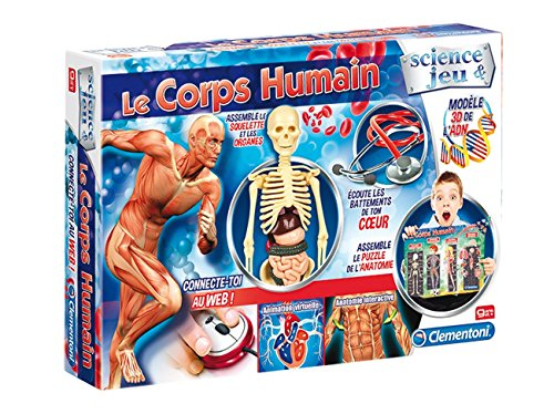 Clementoni - 52108.1 - Le Jeu Scientifique - Le Corps Humain