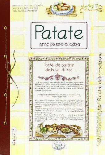 Libro patate la regina di casa quaderni di cucina di for La regina anne casa