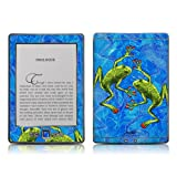 Kindle 4 skin - Tiger Frogs - High quality precision engineered removable adhesive skin for the Amazon Kindle (4th generation Wi-Fi 6