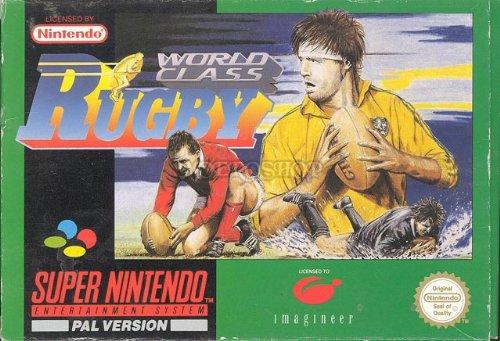 World class Rugby - Super Nintendo - PAL