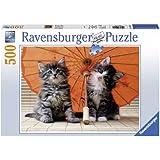 Ravensburger 14256 - Kätzchen unterm Schirm - 500 Teile Puzzle