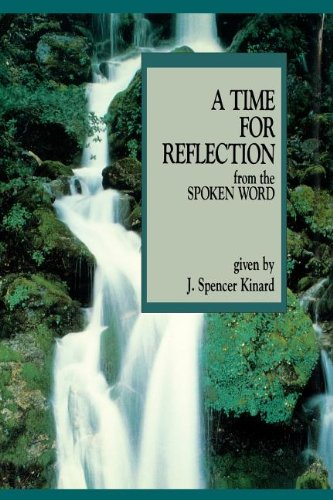 A time for reflection from the spoken word