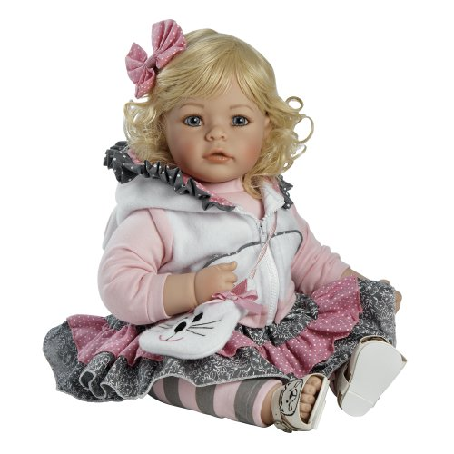 "Adora Baby Doll, 20 Inch ""The Cat'S Meow"" Light Blonde Hair/Blue Eyes"