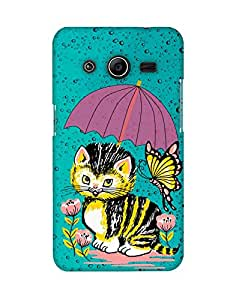 Mobifry Back case cover for Samsung Galaxy Core 2 G3558 Mobile ( Printed design)