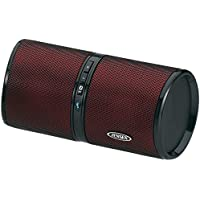 Jensen SMPS-622-R Bluetooth Wireless Rechargeable Stereo Speaker (Red)