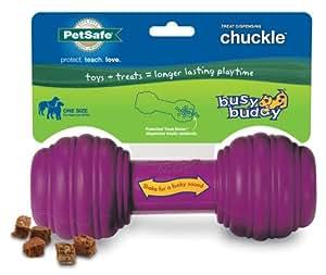 PetSafe Busy Buddy Chuckle Dog Toy, Medium/Large