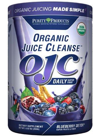 Certified Organic Juice Cleanse (OJC) - Blueberry Detox - Net Wt. 8.82 oz (Organic Juice Cleanse compare prices)