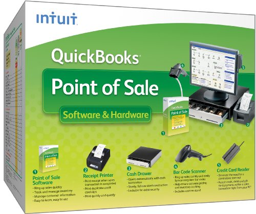 QuickBooks Point of Sale Software & Hardware 9.0