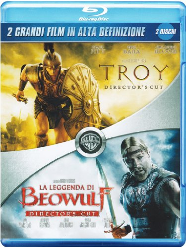 Troy + La leggenda di Beowulf (director's cut) [Blu-ray] [IT Import]