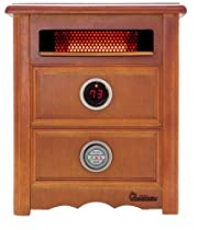 Hot Sale Dr Infrared Heater DR999, 1500W, Advanced Dual Heating System with Nightstand Design, Furniture-Grade Cabinet, Remote Control