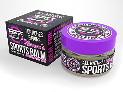 Best Price Zen Women's Sports Balm with Lavender Oil - To relieve Aches & Pains from: Sports Inj...