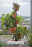 Vertical Garden Post System with Automatic Drip Irrigation System (Terracotta)