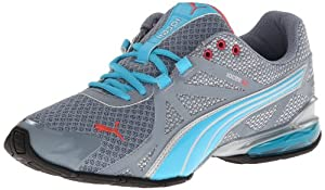 PUMA Women's Voltaic 5 Running Shoe,Trade Winds/Blue Atoll/Puma Silver/Calypso Coral,8 B US