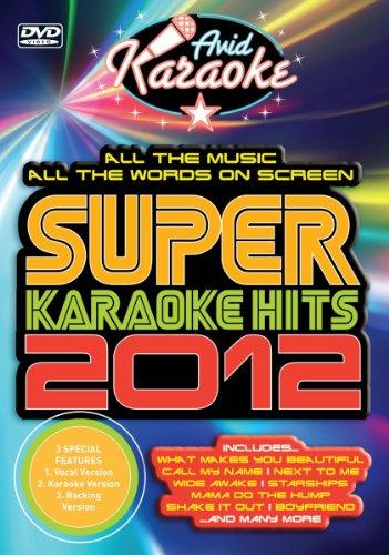 Super Karaoke Hits 2012 [DVD]