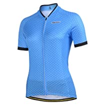 2013 Monton Boat Anchor Women 3 Color Avaliable Outdoor Bike Cycle Cycling Jersey Wear Shirt Cloth (Blue, L)