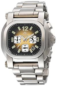REACTOR Men's 79015 Photon Chronograph Copper Gradient Dial Stainless Steel Watch
