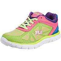 Fila Women's Maria N Green, Pink and Blue  Running Shoes -4 UK/India(37 EU)(5 US)