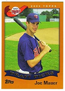 2002 Topps 622 Joe Mauer RC - Minnesota Twins (RC - Rookie Card) Baseball Cards by Topps